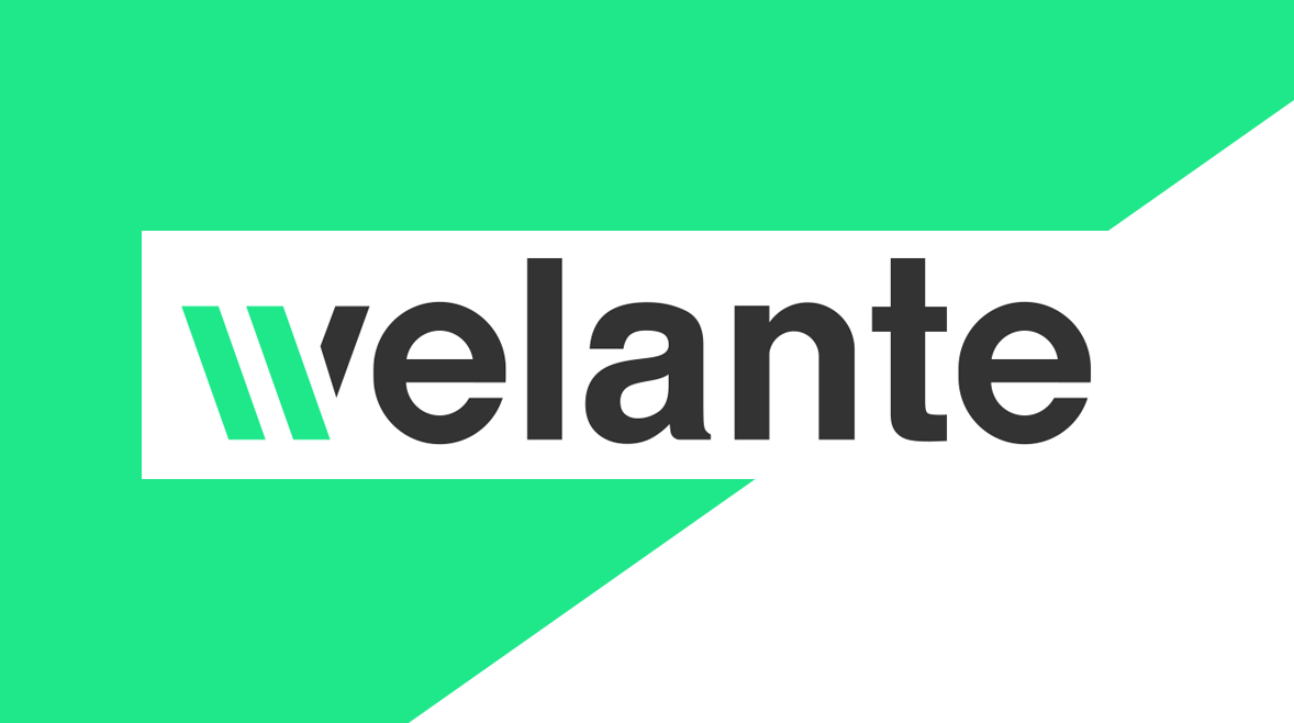 welante logo on green/white background