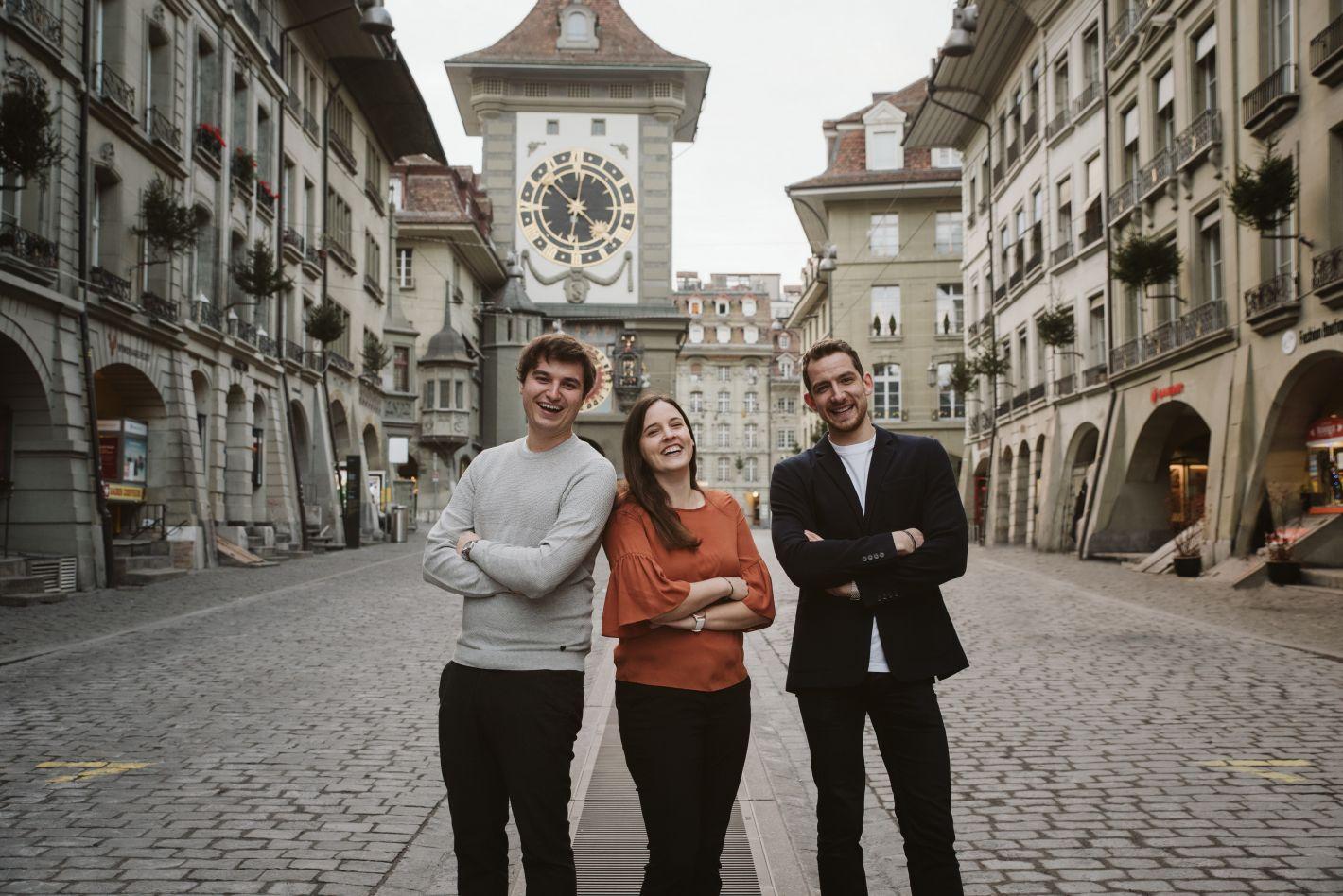 Portait Bild der ludonix crew in Bern